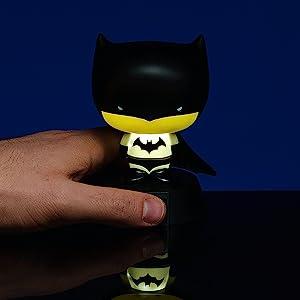Batman, luz, noche, decoración, escritorio, oficina, hogar, hombre, mujer, de colección