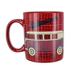 volkswagen, coffee, mug, tea, cup, cocoa, man, woman, collector, decor, kitchen