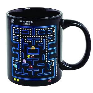 Paladone, Pac-Man, old school, mug, cup, coffee, tea, gift, collection