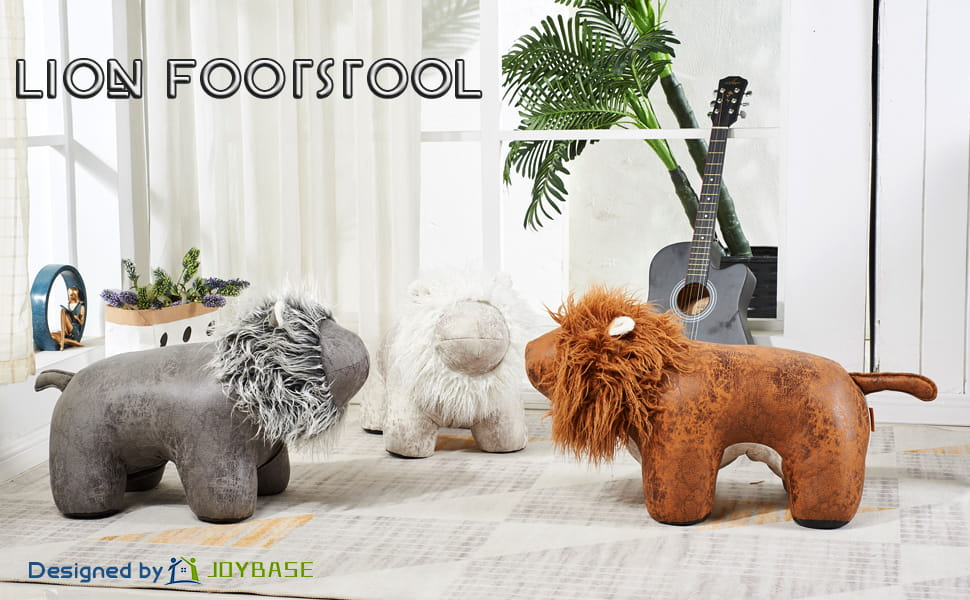 Sensational Amazon Com Joybase Large Animal Footstool Lion Footrest Beatyapartments Chair Design Images Beatyapartmentscom