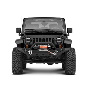 Hydraker 2Pcs Limb Riser Kit Fit for 2007-2018 JK Jeep Wrangler Through the Jungle Protector Obstacle Eliminate Rope Stainless Steel