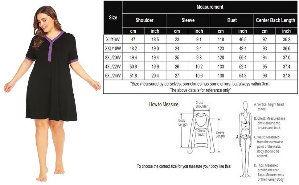 In Voland Women S Plus Size Maternity Nursing Nightgown Nightdress Breastfeeding Sleepwear Nightshirt