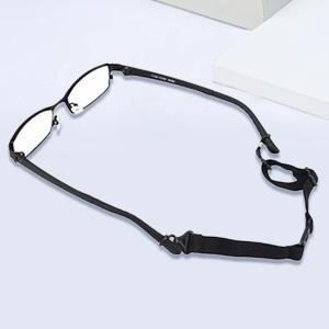 RDEXP Sports Black Eyeglasses Glasses Strap Holder with