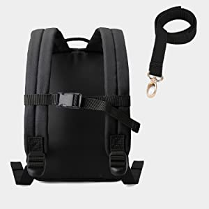 Kids backpack with leash
