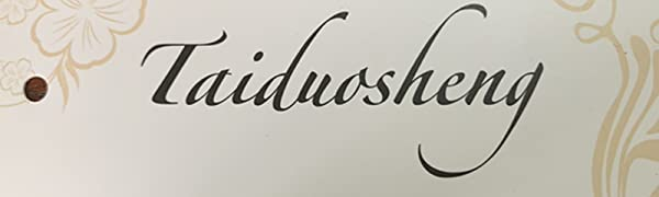 Taiduosheng Brand company Especially making cloth for US customer