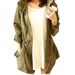 Green light weight jacket