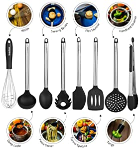 cleaning food utensils