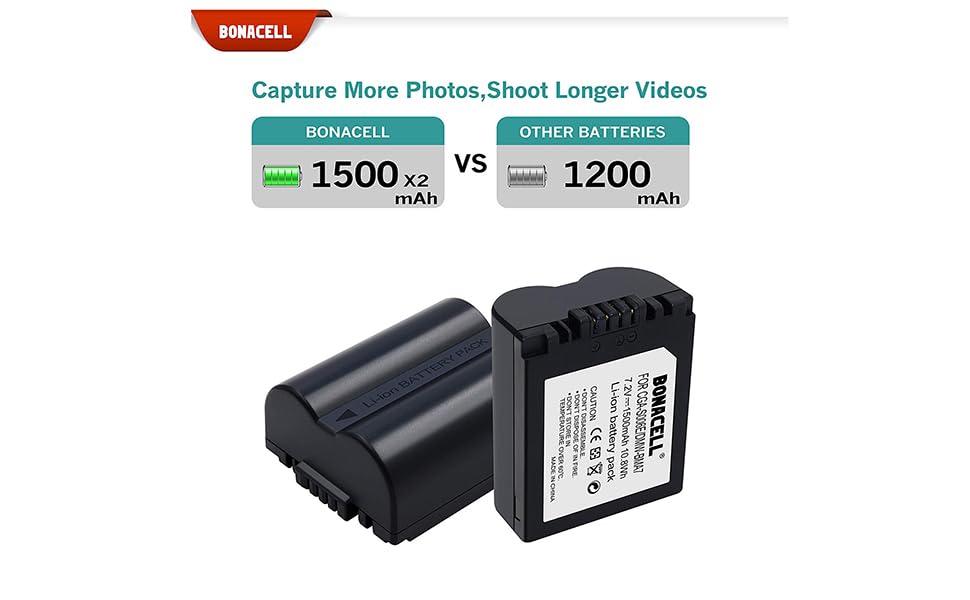 Dual USB Cargador De Batería Para Panasonic CGA-S006E//1B CGA-S006E CGR-S006E DMW-BMA7