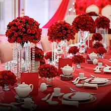 artificial flowers roses  wedding floral arrangement centerpieces home in vase reception baby showe