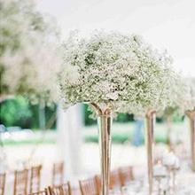 baby's breath bulk centerpieces wreath little corsage flower Wrist flowers wedding outside decor