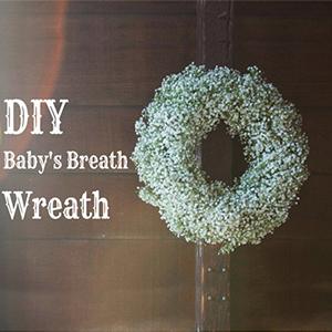 Babies breath flowersartificial fake babys breath  faux filler DIY  baby's breath wreath garland