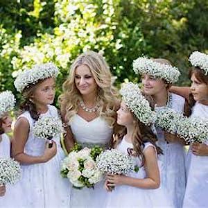 DIY flowers baby's breath bulk small little corsage flower Wrist flowers wedding home outside decor
