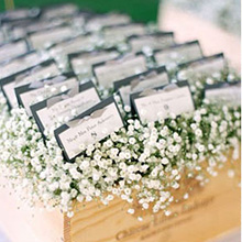 baby's breath centerpieces wreath small  corsage flower Wrist flowers wedding floral home decor
