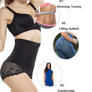 ad660531e54 DODOING Womens High Waist C-Section Recovery Slimming Underwear ...