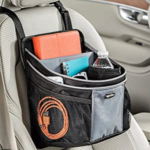hanging front seat car organizer for men and women