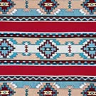 western rug cabin rustic southwest indian aztec colorful