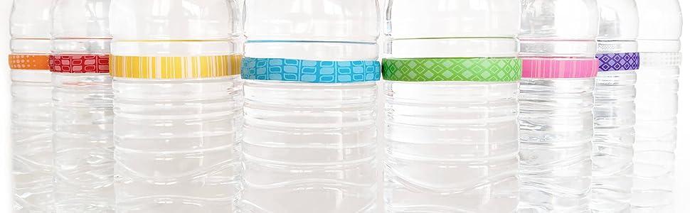 Water Bottle ID Drink Markers