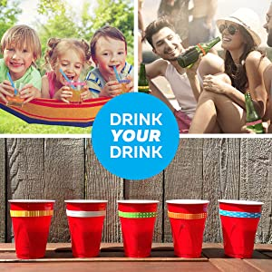 Drink Markers for Everyday Use to Reduce Germs