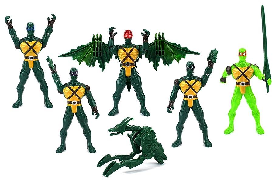 Amazon.com: Velocity Toys Super Ninja Dragon Children Kids ...