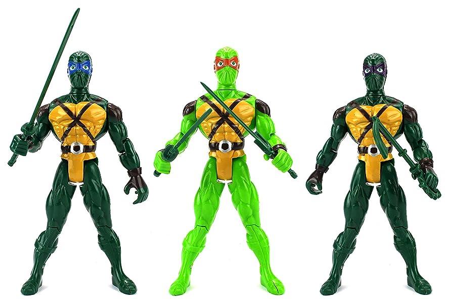 Amazon.com: Super Ninja Big 3 Warriors Children Kids Toy ...