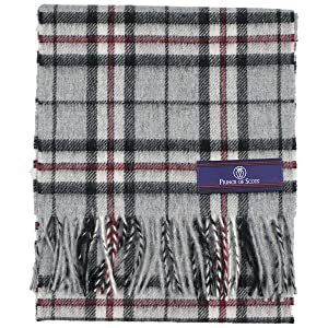 Prince of Scots Grey Thompson Scarf