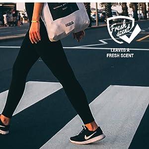 shoe deodorizer, gym bag freshener