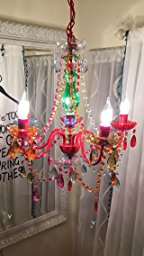 The Original Gypsy Color 6 Light Large Gypsy Chandelier