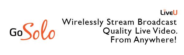 Portable wireless bonding live video streaming encoder social media online livestream