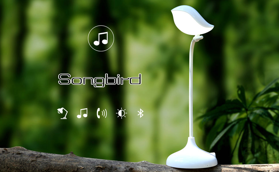 Amazon Com Mamre Songbird Reading Table Lamp With