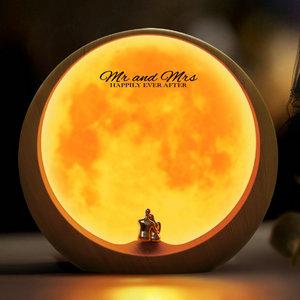 mamre Moon Ambient Light DIY Anniversary Wedding Valentines Day Gift Ideas Art Décor, Love Beneath The Red Moon botlSZ0jTgKk