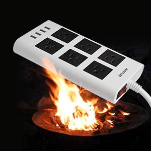 fire-retardant surge protector