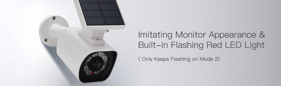 Imitating Monitor Appearance & Built-in Flashing Red LED Light