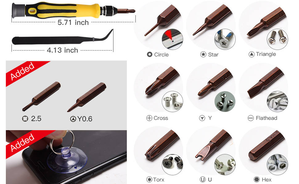 precision screwdriver bit kit