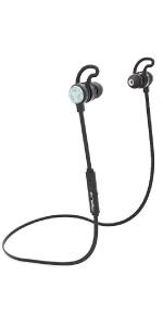 TREBLAB J1 Bluetooth Earbuds aptX Best Wireless Headphones Sport IPX6 Waterproof