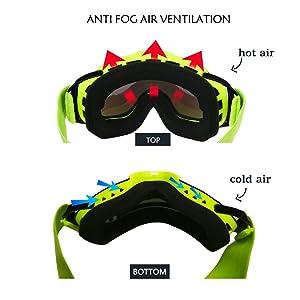 39e62e5e69bb Amazon.com   Lixada Ski Goggles