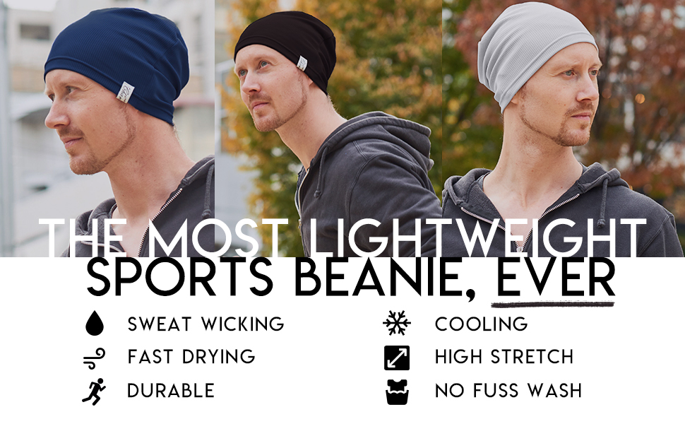 super lightweight sports beanie