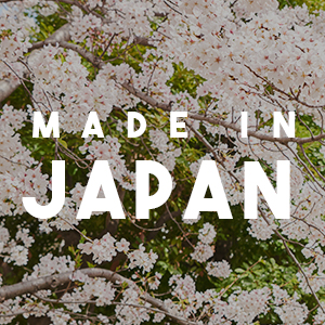 Made in Japan by Designers in Osaka, Handmade in Japan Fair-Trade Conditions