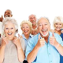macular degeneration magnifying glass for seniors elderly old people folks with reduced eyesight