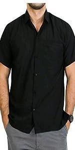 PLAIN BLACK SHIRT FOR EVERY OCASSION