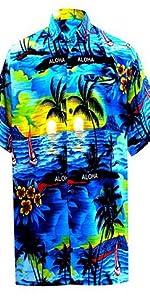 ALOHA SURFING HAWAIIAN SHIRTS FOR MEN