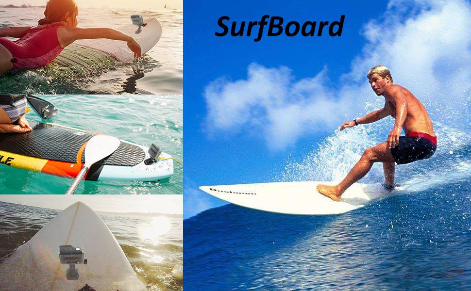 surfboard mount for gopro
