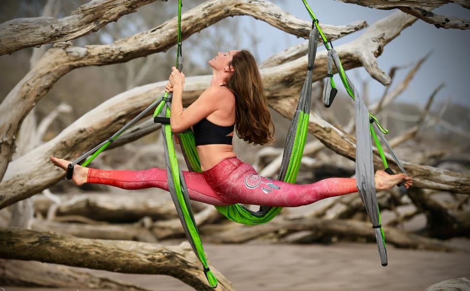 Yoga trapeze Aerial yoga Swing yoga Hammock