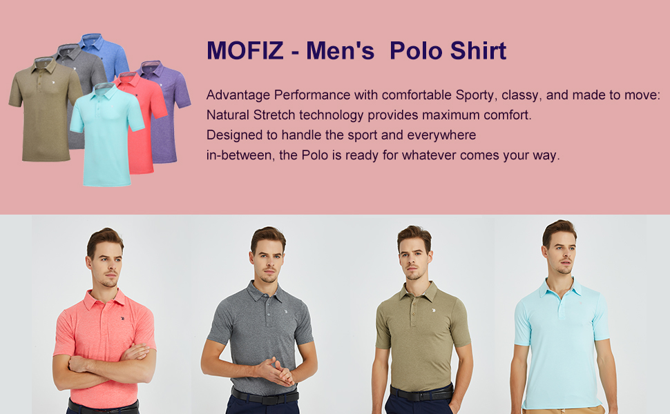 Men Golf Polo Shirt