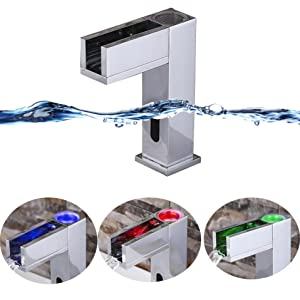 LED Sensor Faucet