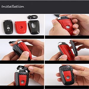 Amazon.com: ontto - Carcasa para llave de coche Ford Smart ...