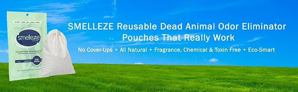 Amazon Com Smelleze Reusable Dead Animal Smell Removal