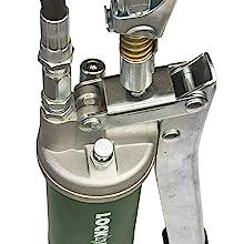 bulk load port and air bleeder valve