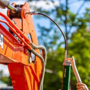 heavy duty hose and swivel