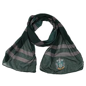 elope Harry Potter Slytherin House Lightweight Scarf Hogwarts NEW