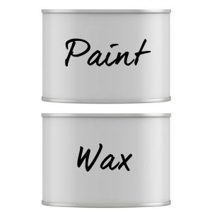 Chalk paint wax brush for furniture dresser